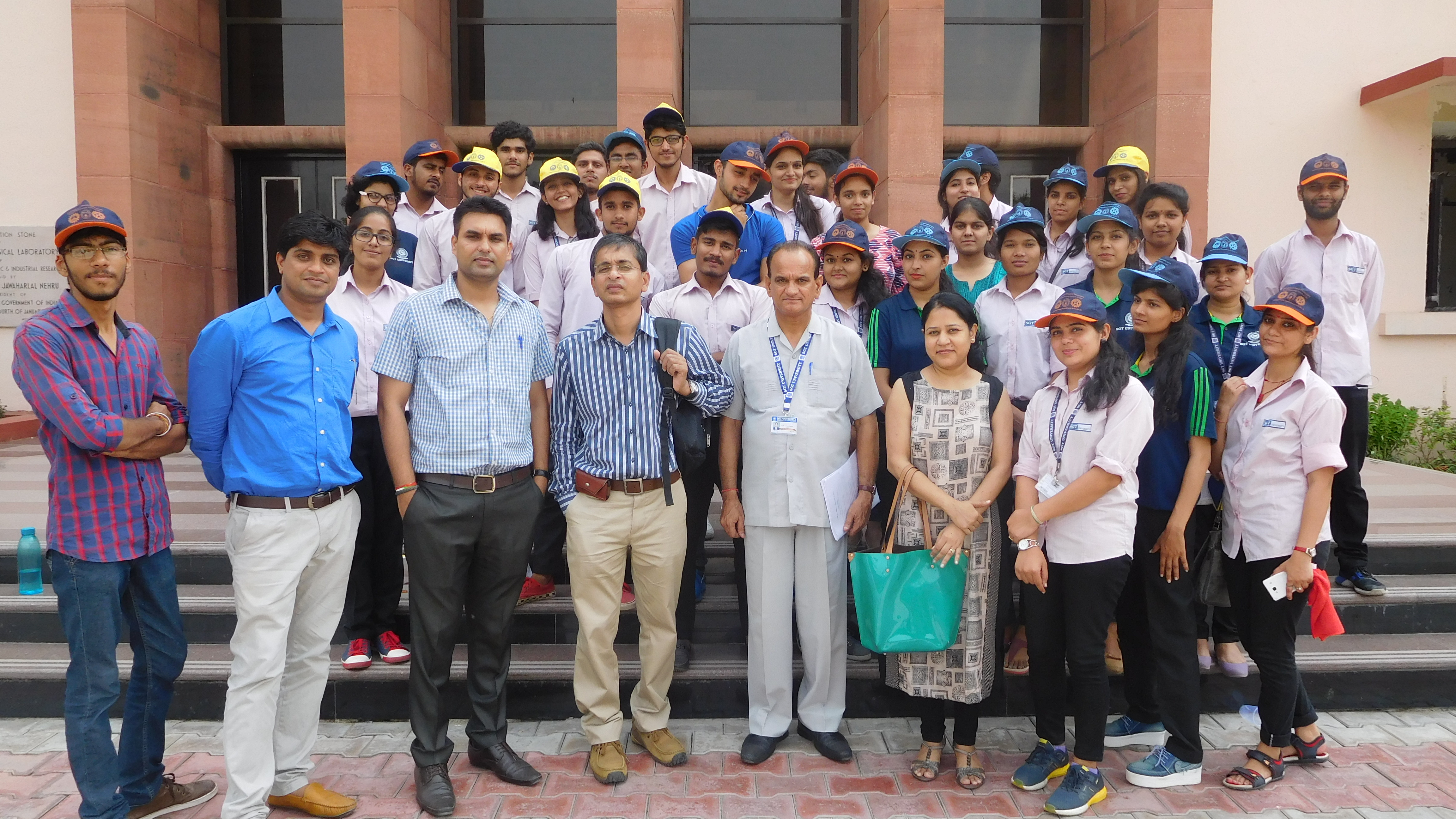 Educational visit to National Physical Laboratory, New Delhi