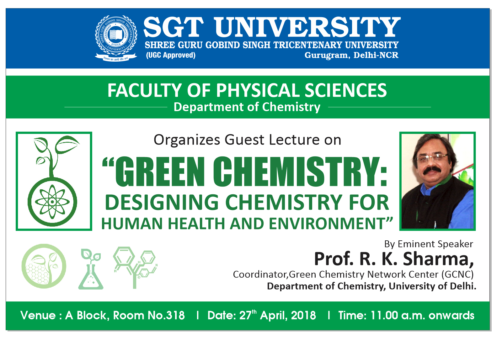 Green Chemistry: Designing Chemistry for Human Health and Environment