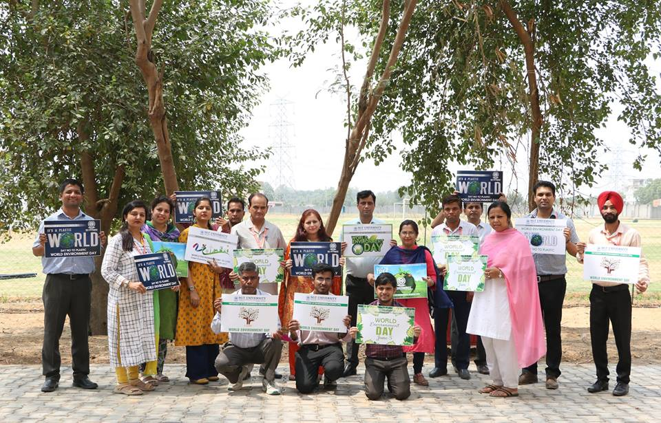 World Environmental Day- 2018