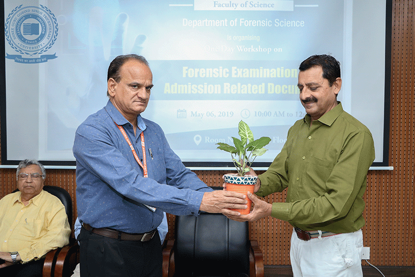 Workshop on Forensic Examination of Admission Related Documents