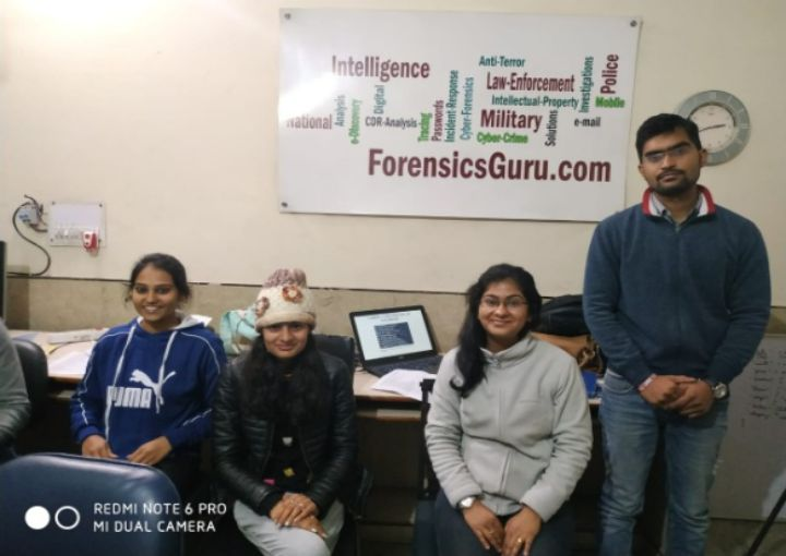 Internship Training at Forensic Guru.com, Faridabad, Haryana  Organised by  360˚ Forensic Association