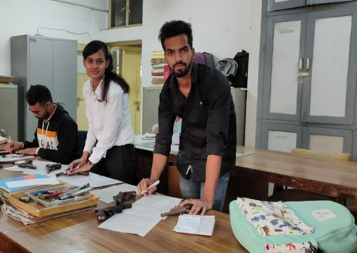 Internship Training at Forensic Science Laboratory, Madhuban, Haryana Organised by  360˚ Forensic Association