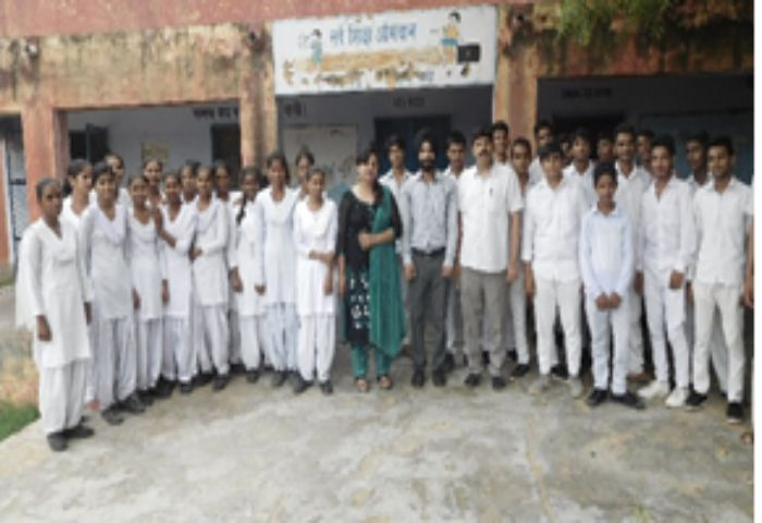 Ozone Week Celebration At Govt. Sr. Sec. School, Budhera