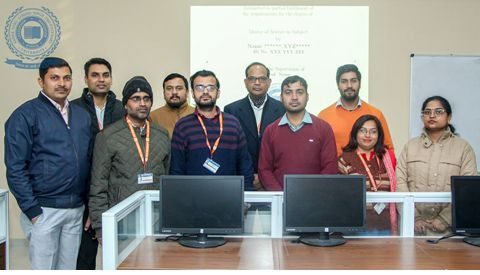 Workshop on Scientific Typesetting Software LaTeX Organized  By  Bhaskara Association