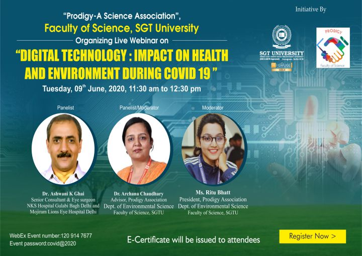 Digital Technology Impact on Health and Environment
