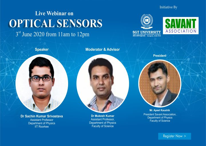 Webinar on Optical Sensors