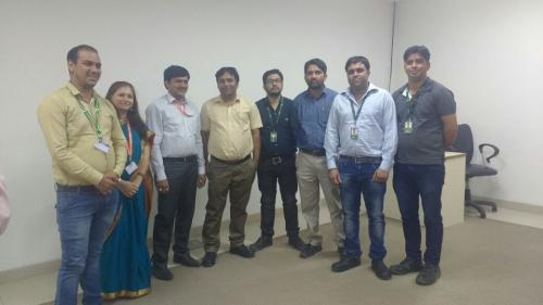 """Industrial visit to """"Key Research & Development Centre"""""""