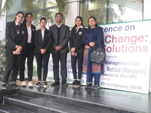 National Conference on Global Climate Change: Concerns and Solutions