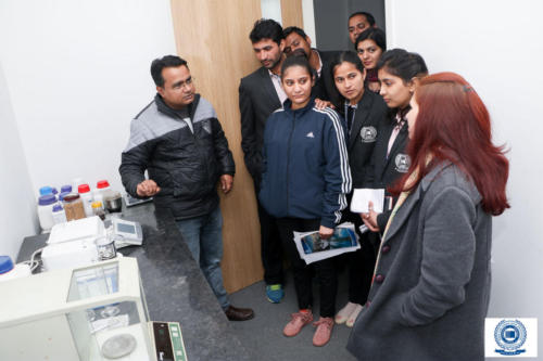 Industrial Visit- Department of Chemistry