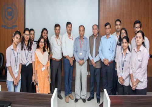 """Guest Lecture  On  """"Basics of Topological Space"""" Organized  By  Bhaskara"""