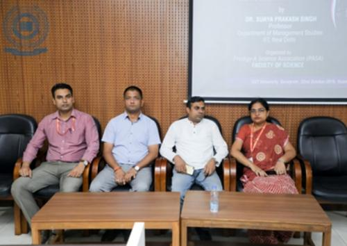 Guest Lecture on Quantitative Modeling and its application to Industry